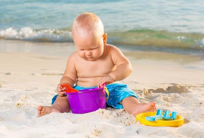 Sonnenschutz fürs Baby