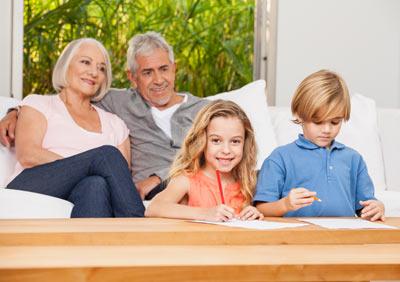 kinderbetreuung durch großeltern