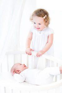 keine Eifersucht unter Geschwisterkinder