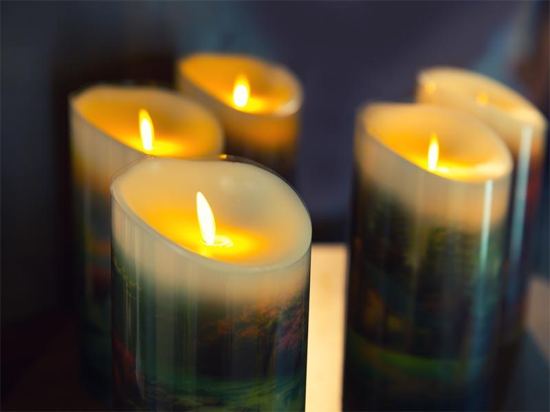 LED oder echte Kerzen?
