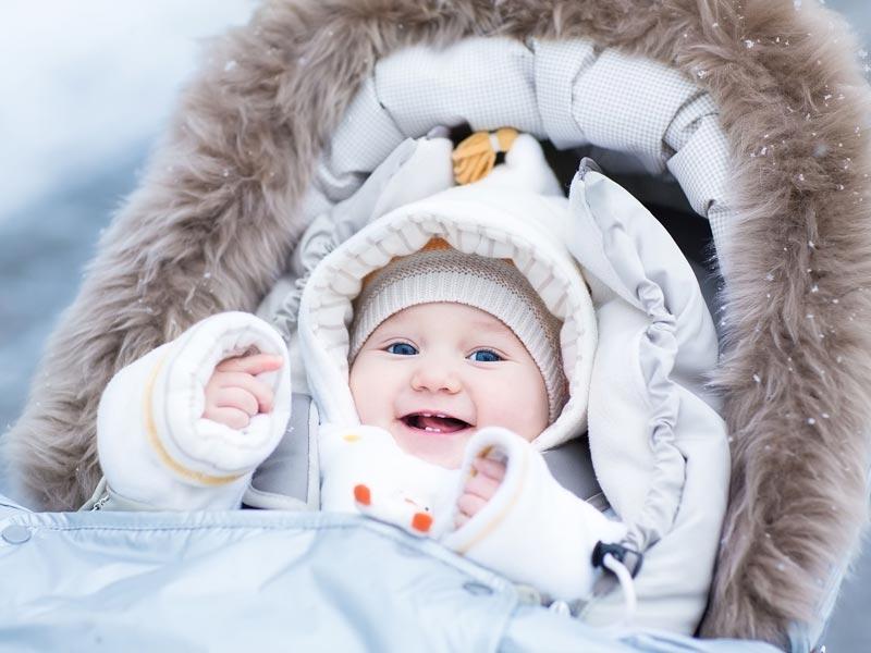 Winterbaby – so kommen Babys gut durch den Winter
