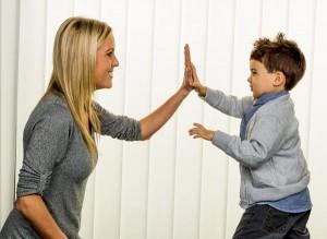 Erziehung von Kindern