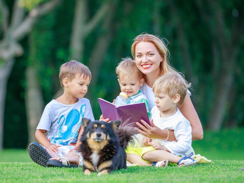 Vorlesen macht Kinder fit für die Schule