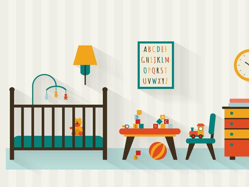 Kinderbettchen und Stubenwagen – Wo und wie schläft ein Baby am besten?